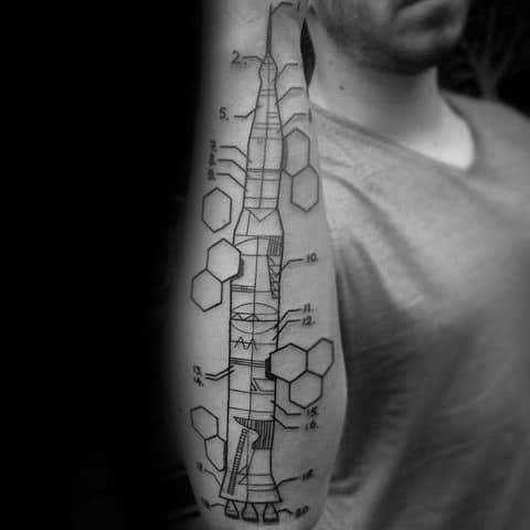 Incredible Engineering Tattoos For Men
