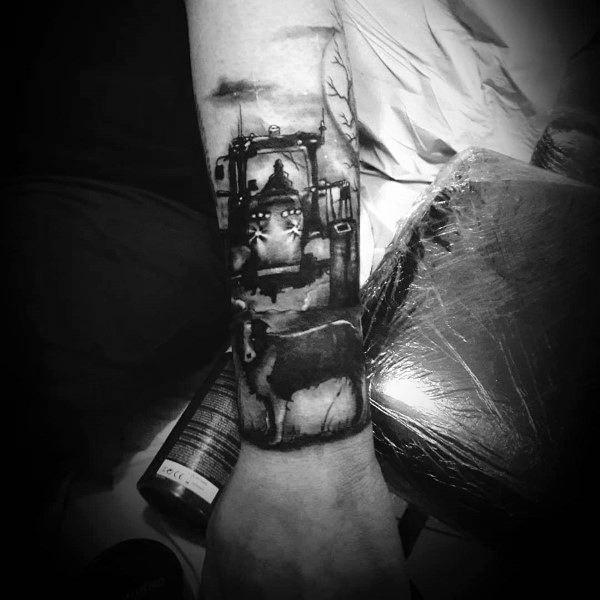 Incredible Farming Tattoos For Men