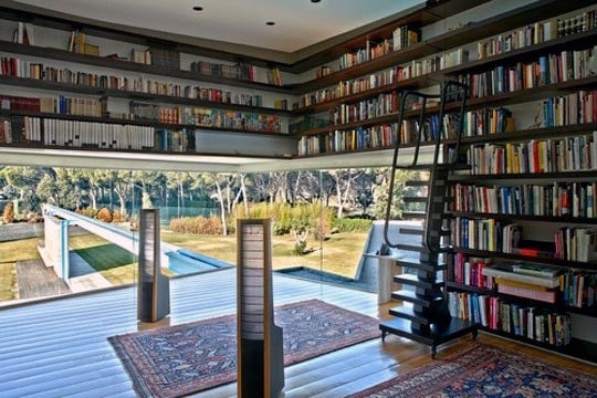 Incredible Floor To Ceiling Bookshelves Ideas
