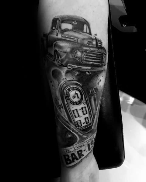 Incredible Ford Tattoos For Men