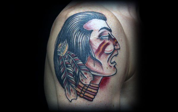Incredible Fsu Tattoos For Men On Upper Arm