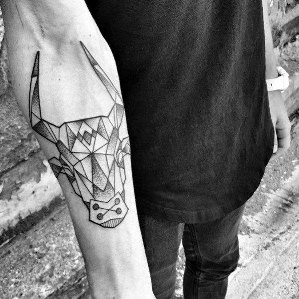 Incredible Geometric Animal Tattoos For Men