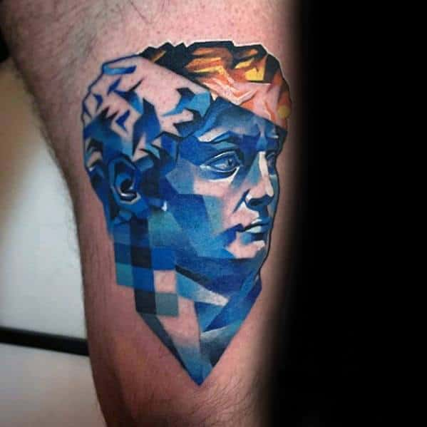 Incredible Glitch Tattoos For Men
