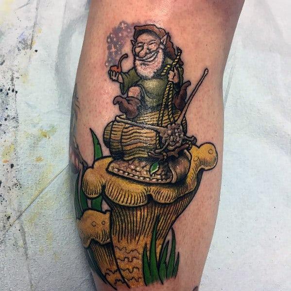 Incredible Gnome Tattoos For Men