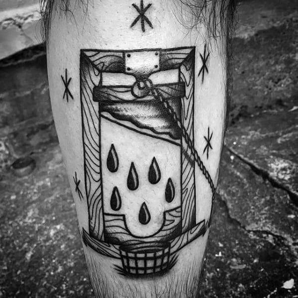 Incredible Guillotine Tattoos For Men