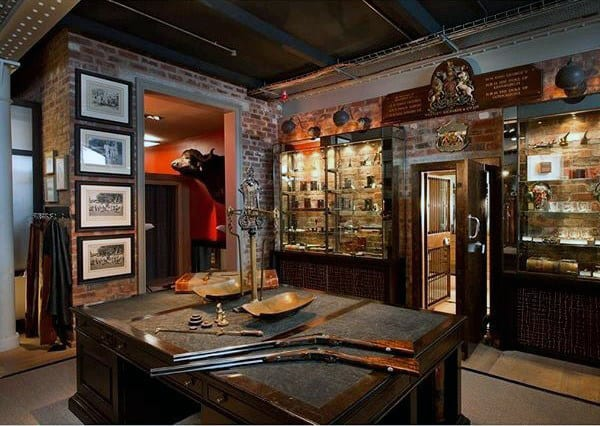 Incredible Gun Room Shop Design Traditional Decor