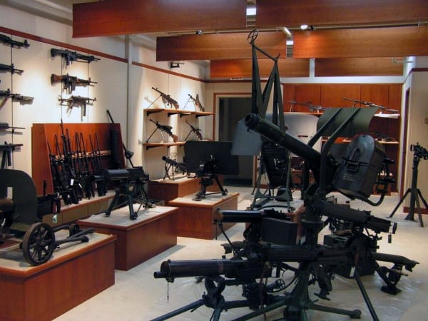 Incredible Gun Room With Massive Firearms Collection Inside