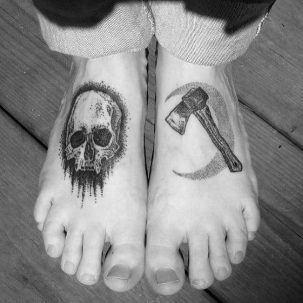 Incredible Hatchet Tattoos For Men