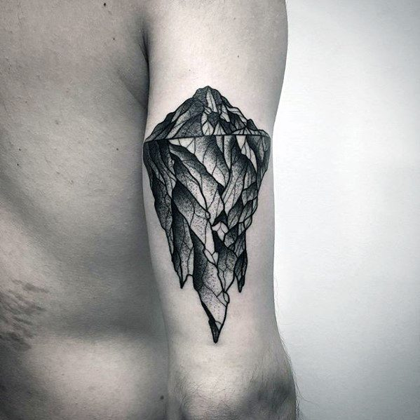 Incredible Iceberg Tattoos For Men