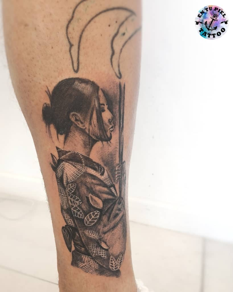 Incredible Japanese Geisha Tattoo