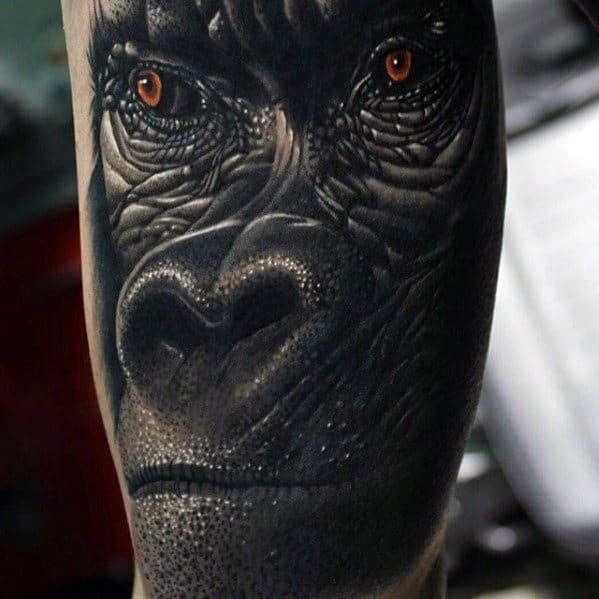 Incredible King Kong Tattoos For Men