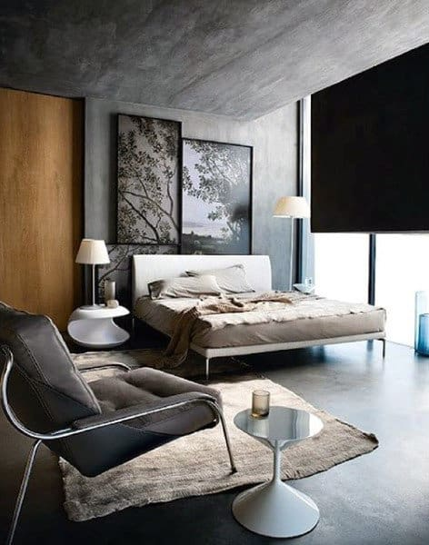 Incredible Masculine Bedroom For Men