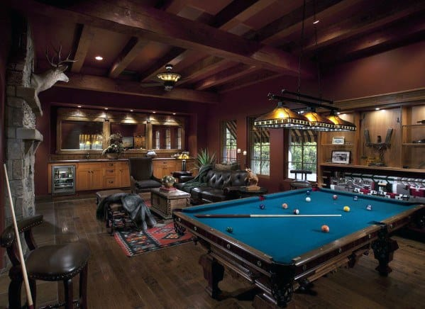 Incredible Masculine Billiards Room