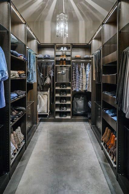 Incredible Mens Closet Design Ideas
