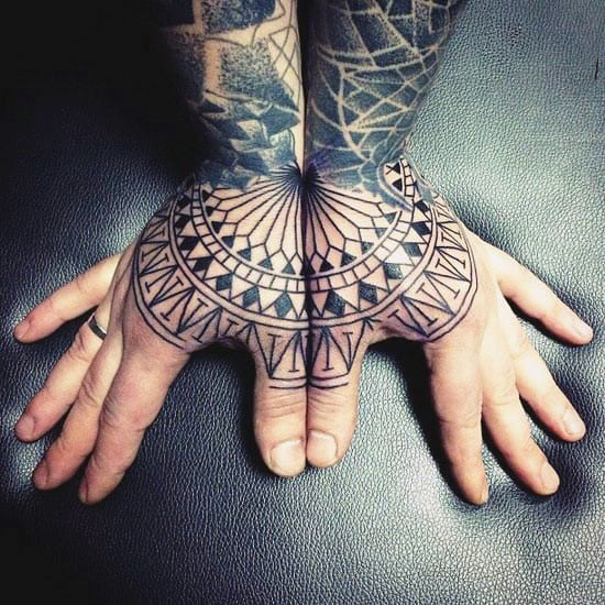 Incredible Mens Knuckle Tattoo Design Shapes