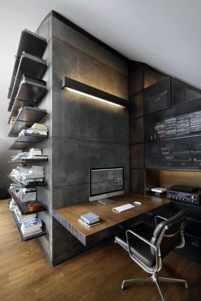 Incredible Mens Small Home Office Ideas