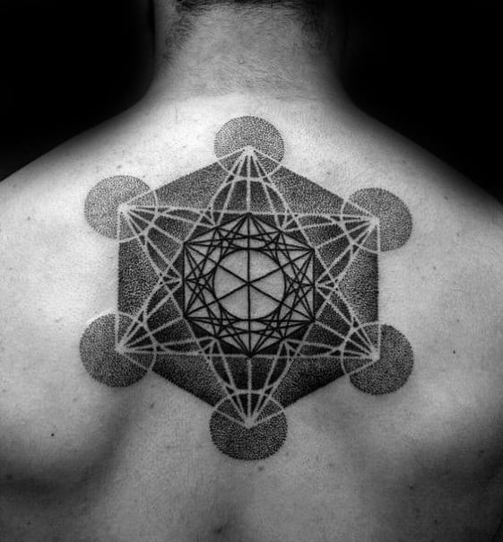Incredible Metatrons Cube Tattoos For Men
