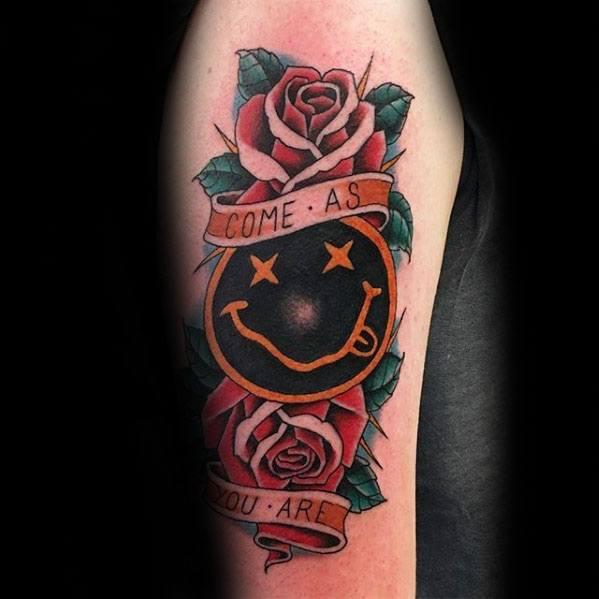 Incredible Nirvana Tattoos For Men