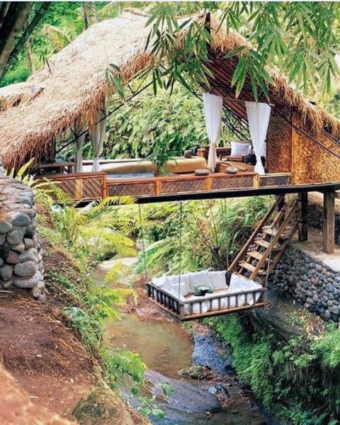 Incredible Outdoor Hanging Bed Designs