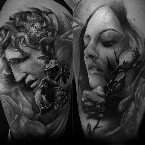 Incredible Perseus Tattoos For Men On Arm