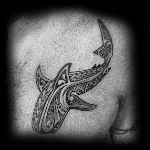 Incredible Polynesian Shark Tattoos For Men