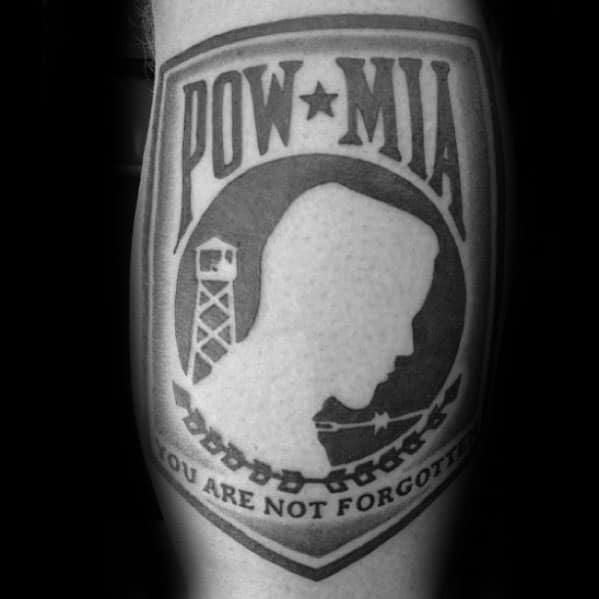 Incredible Pow Mia Tattoos For Men