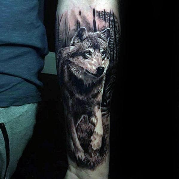 Watch 40 Lion Forearm Tattoos For Men – Manly Ink Ideas video
