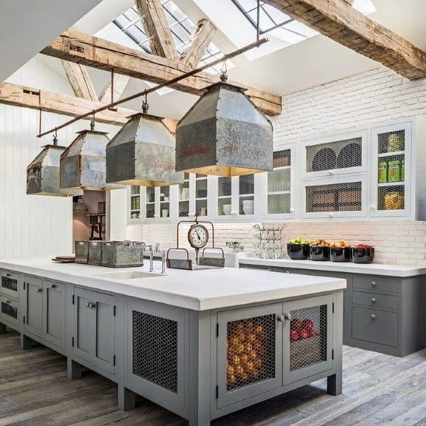 Incredible Kitchen Remodeling Ideas: Vintage Inspired Interior Designs