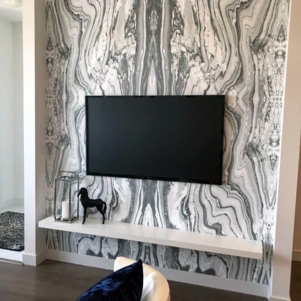 Incredible Stone Large Format Tile Tv Walls