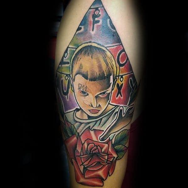 Incredible Stranger Things Tattoos For Men