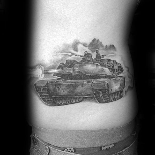Incredible Tank Tattoos For Men