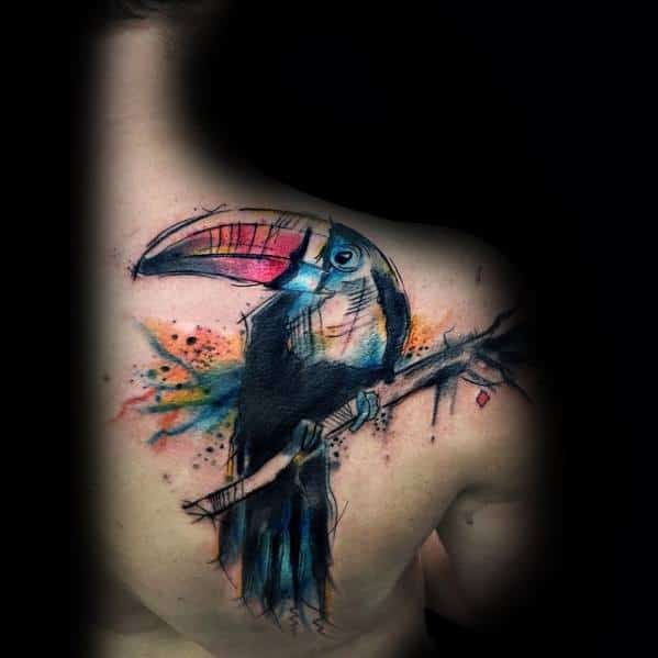 Incredible Toucan Tattoos For Men