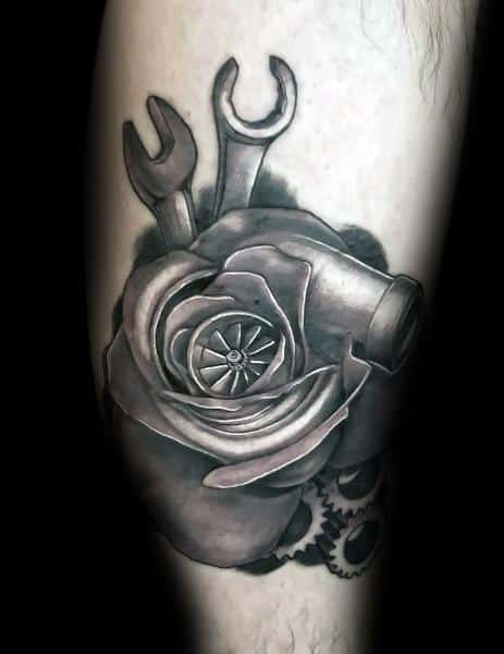 Incredible Turbo Tattoos For Men