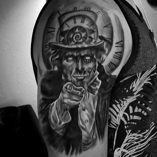 Incredible Uncle Sam Tattoos For Men On Arm