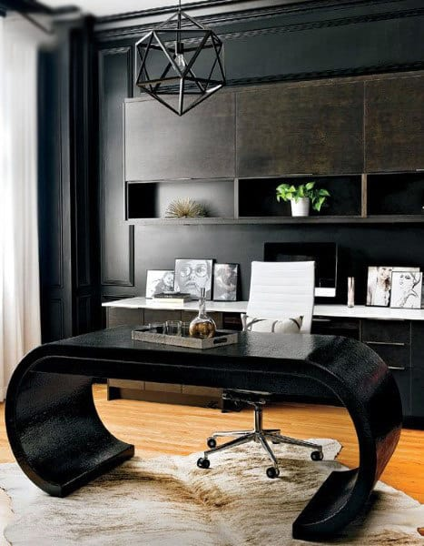 Incredible Vintage Small Home Office Ideas For Men