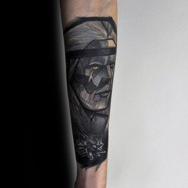 Incredible Witcher Tattoos For Men