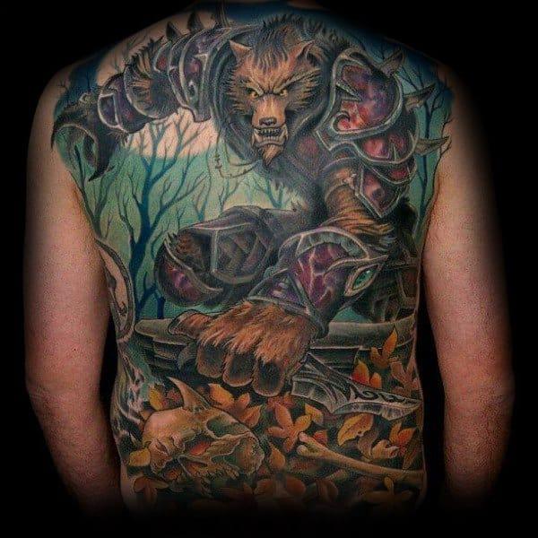 Incredible World Of Warcraft Tattoos For Men