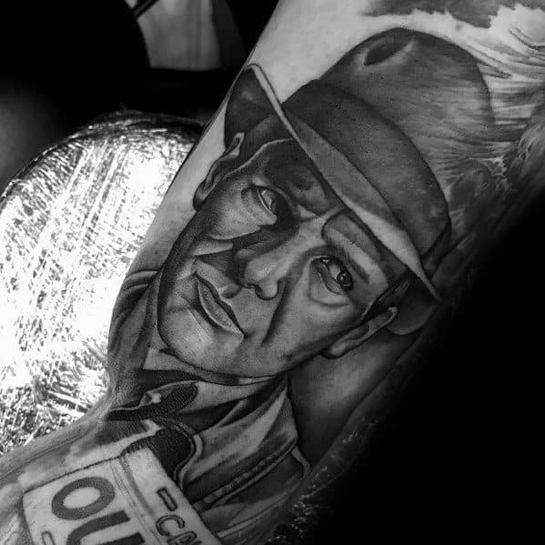 Indiana Jones Guys Tattoo Designs Outer Arm