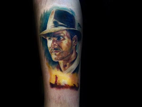 Indiana Jones Tattoo Design Ideas For Men