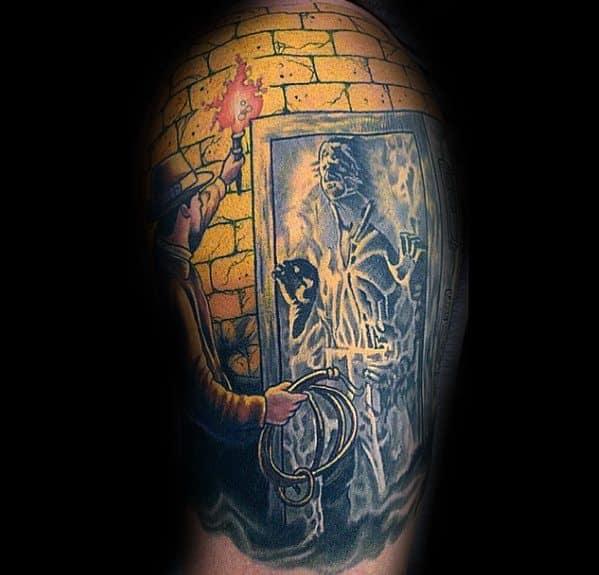 Indiana Jones Tattoo Designs For Gentlemen