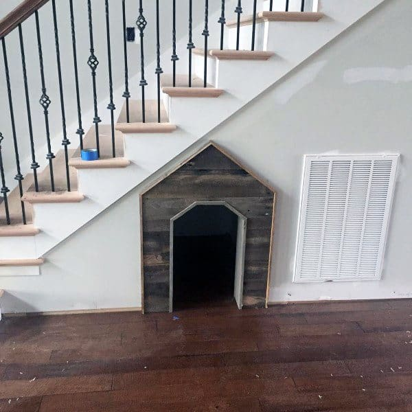 Indoor Dog House Ideas Under Stairs
