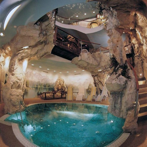 Indoor Home Swimming Pool Cave Design
