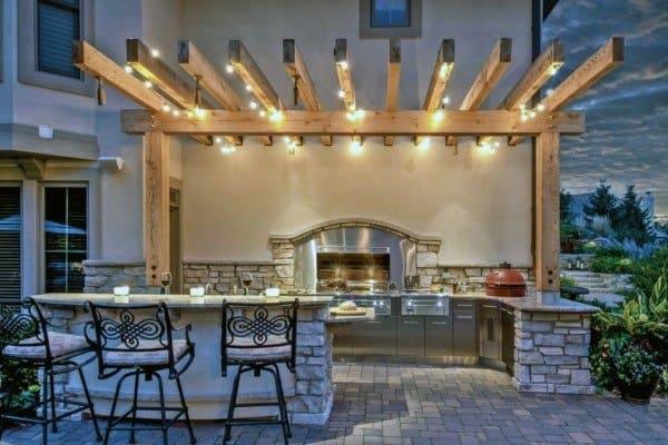 Indoor Outdoor Kitchen Ideas
