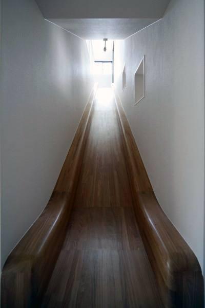 Indoor Slide Smooth Polished Wood