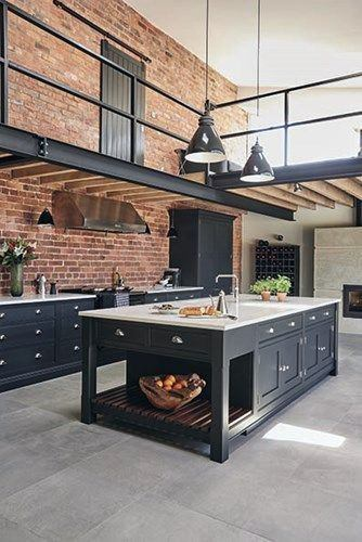Industrial Decorating Style Interior Ideas. Industrial Design Home Interior & Top 50 Best Industrial Interior Design Ideas - Raw Decor Inspiration