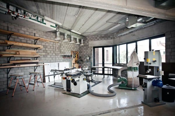 Industrial Garage Workshop Ideas