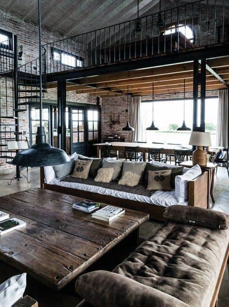 Industrial House Design Interiors
