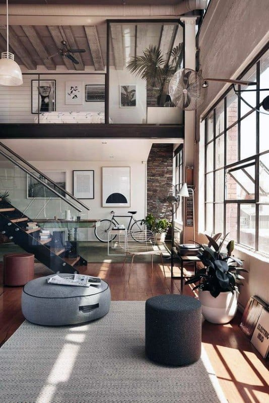 Industrial Interior Design Colors