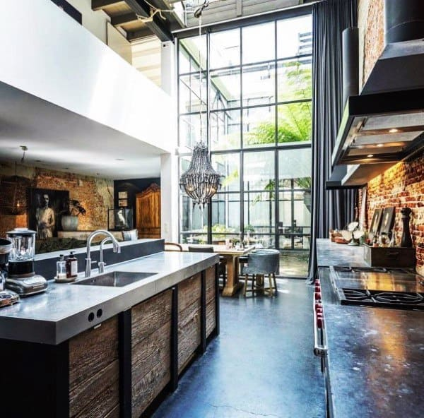 Top 50 Best Industrial Interior Design Ideas - Raw Decor ...