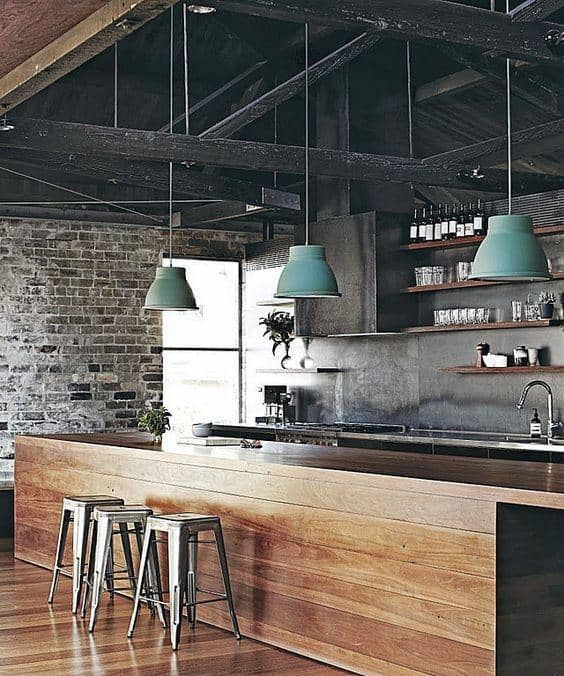 Industrial Interior Design House
